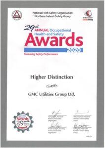 NISO High Distinction Award 2020